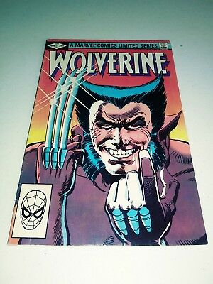 Wolverine Limited Series  #1 (1982) VF/NM? Marvel Comics Frank Miller art 4