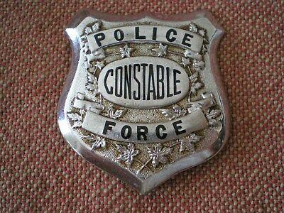Obsolete Vintage 1920s Police Force Constable Generic Canadian Badge: Winnipeg ?