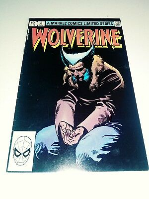 Wolverine Limited Series  #3 (1982) VF/NM? Marvel Comics Frank Miller art 1 4