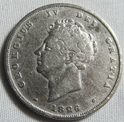 Great Britain 1926 George IV Silver Shilling