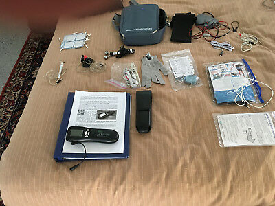 bio Scenar Professional with connector and attachments shown in pictures