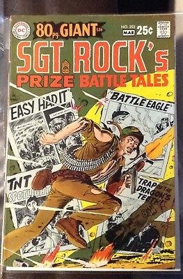 Our Army At War #203 Prize battle tales G-56 (March 1969, DC) Silver Age Comic