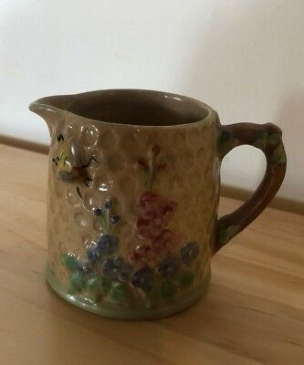 Vintage Price Kensington Ware Honeycomb Milk Jug - Made In England - Used