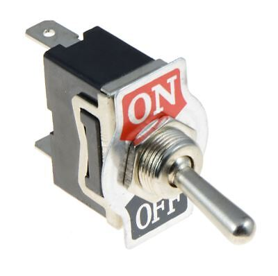 On-Off Toggle Switch SPST 15A 250VAC