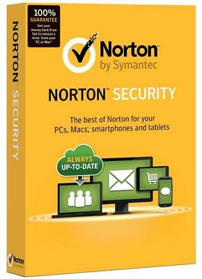 New Sealed Retail Norton (Internet) Security Deluxe 2019: 5 PCs / Macs / Devices