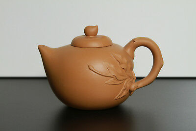Chinese Vintage 'Yixing' Purple Clay Signed/Marked Teapot