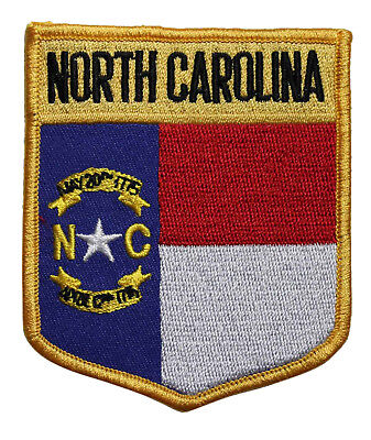 Travel Souvenir 216-K State Of South Carolina Flag Embroidered Iron On Patch