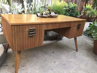 Vintage Paul Frankl for Brown Saltman Of California Desk