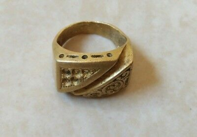 ancient bronze ring viking artifact stunning authentic rare type