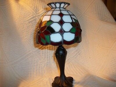 Partylite Christmas Candle Holder-Poinsettia Tealight Lamp