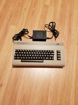 Commodore 64 Computer Tested and Working with Power Supply