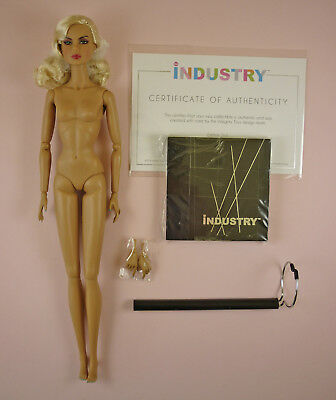 """Color Clash Alysa - 12-1/2"""" Nude Doll - Just Out Of The Box -Industry Collection"""