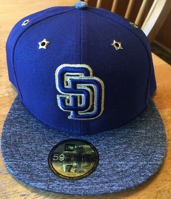 f49e9f3e8d2 SAN DIEGO PADRES New Era Navy All-Star 59Fifty Fitted Hat -  27.99 ...