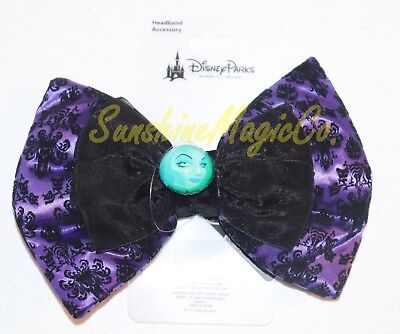 Disney Parks Haunted Mansion Madam Leota Interchangeable Ears Swap Your Bow
