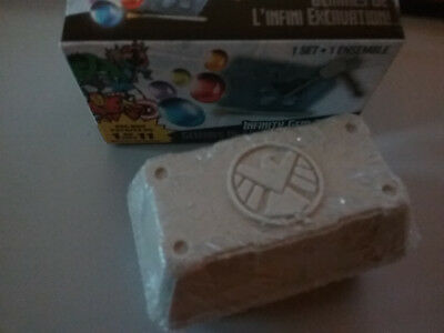 MARVEL Marvel Dig It Infinity Gem Shield sand crate UNDUG  NEW