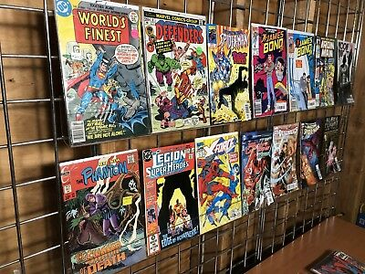 Bronze To Modern Comic Lot Ft #1s Plus The Phantom, Superman Bm3