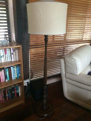 Antique Free Standing Lamp