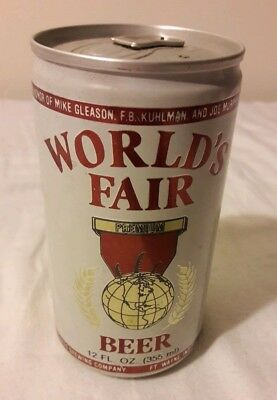 1982 World's Fair Premium Beer Can -  Unopened - Great Lakes Brewing
