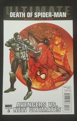 Ultimate Avengers Vs New Ultimates # 3 Frances Lienel Yu Cover Spiderman 1 2 4