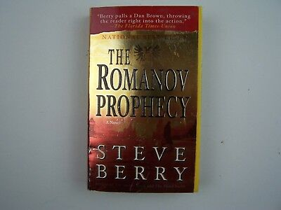 Steve Berry The Romanov Prophecy Russian History Thriller Paperback