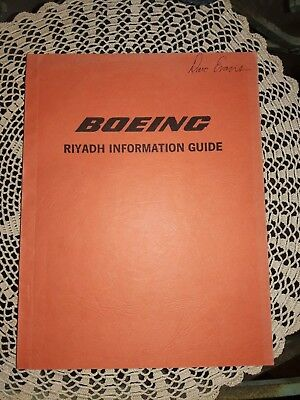 Boeing Riyadh Information Guide, By Boeing Middle East Ltd., 1985