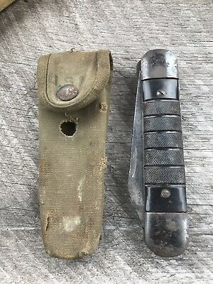 COLONIAL? USA WW2 era US Navy and Army Air Corps survival kit folding knife