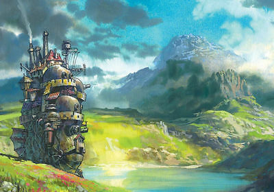 Studio Ghibli Howls Moving Art Silk Poster 8x12 24x36 24x43