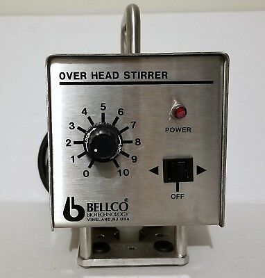 Bellco Biotechnology Overhead Stirrer Cat. No. 7764-00110