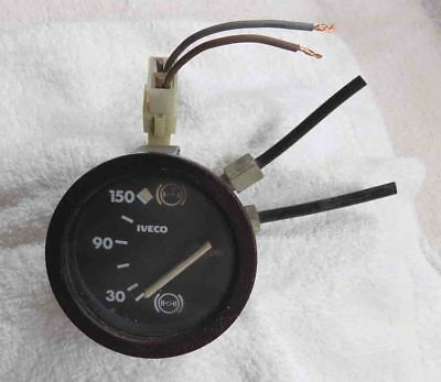 Iveco Air Brakes Pressure Gauge - Dual Needle Display - USED - TESTED