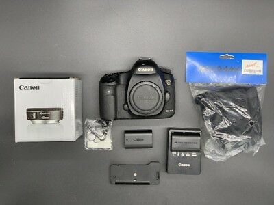 Canon EOS 5D Mark III DSLR Camera (Body + 40mm lens + accessories)