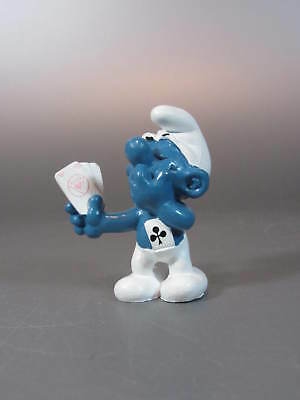Vintage SMURF / Schtroumpf ASS Card Player W. Germany 1978 Promotional Figures
