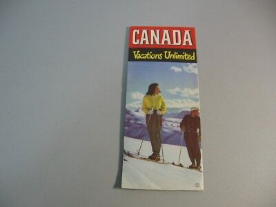 Vintage Travel Guide;Canada; Canadian Government Travel Bureau