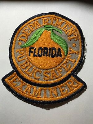 Old defunct Florida Department of Public Safety Examiner Police Patch