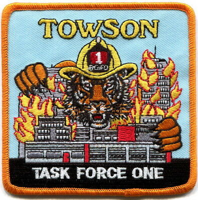 Maryland - Baltimore County FD Towson station 1 current Tiger patch