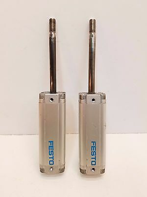 Lot of 2 Festo Air/Pneumatic Standard Cylinder  ~~ Free Shipping