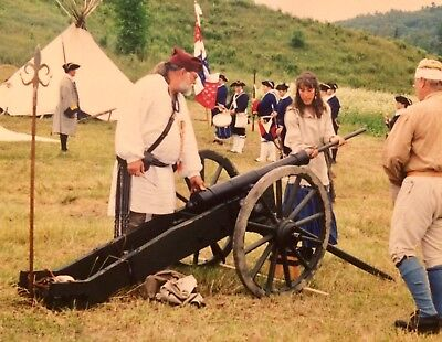 WORKING 1750 French & Indian War CANNON Authentic Rare Military Grade Weapon WoW