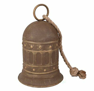 """7"""" Antique Style Large Decorative Metal Bell for Garden and Home Decor TAXFREE"""