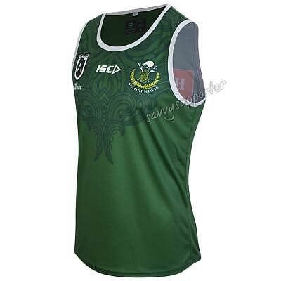 New Zealand Maori All Stars 2019 Mens Training Singlet S-5XL BNWT