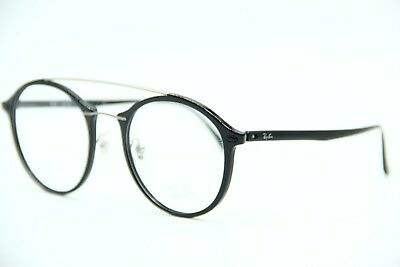 New Ray-Ban Rb 7111 2000 Black Eyeglasses Authentic Frame Rx Rb7111 51-21