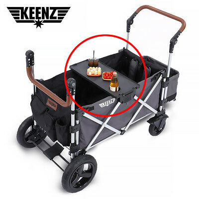 Portable Strong Folding Cup Holder Snack Table Tray for KEENZ 7S Wagon Stroller