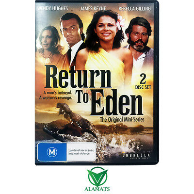 Return To Eden (DVD) The Original Mini-Series - James Reyne - Wendy Hughes