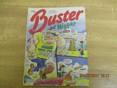 October 1987, BUSTER & NIPPER, Pat Dunican, Kevin Norris, Matthew Rayment.