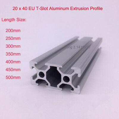 2040 T Slot Aluminum Extrusion Profile Linear Rail CNC 3D Printer Shaft Support