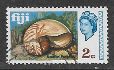 Fiji Postage Issue -  Used Qe11 Definitive Stamp 1969 - Local Scenes