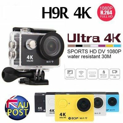 HD 4K 1080P WIFI Sport Action Camera 60fps H9R Waterporoof DVR Camcorder SJ