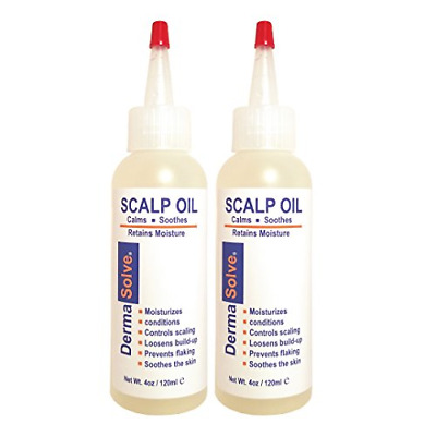 Dermasolve Psoriasis Scalp Oil 2-Pack Forumlated to Loosen Scaling Build-up, and