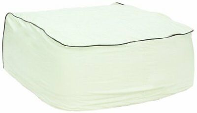 Camco 45394 RV Vinyl Air Conditioning Cover fits DuoTherm (Off-White|DuoTherm)