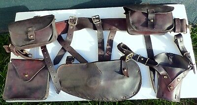 WW1 original 1914 Pattern leather equipment