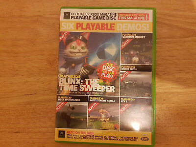 Official UK Xbox Magazine Game Disc 12