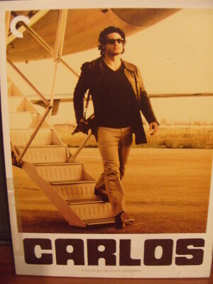 Carlos (DVD, 2010, 4-Disc Set, Criterion Collection)